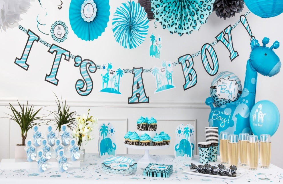 Ideas para Baby Shower Niño